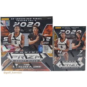 LOT-BUNDLE-Panini-Prizm-Draft-Picks-Basketball-2020-21-Mega-amp-Blaster-Box-SEALED