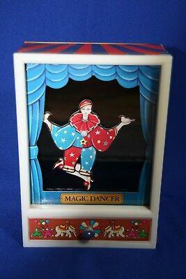 Vtg Moving Mechanical Magic Dancer