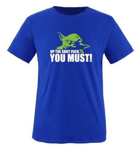 Yoda-bordeI-Deux Tons-Hommes Unisexe T-shirt Taille S à XXL Différentes Couleurs