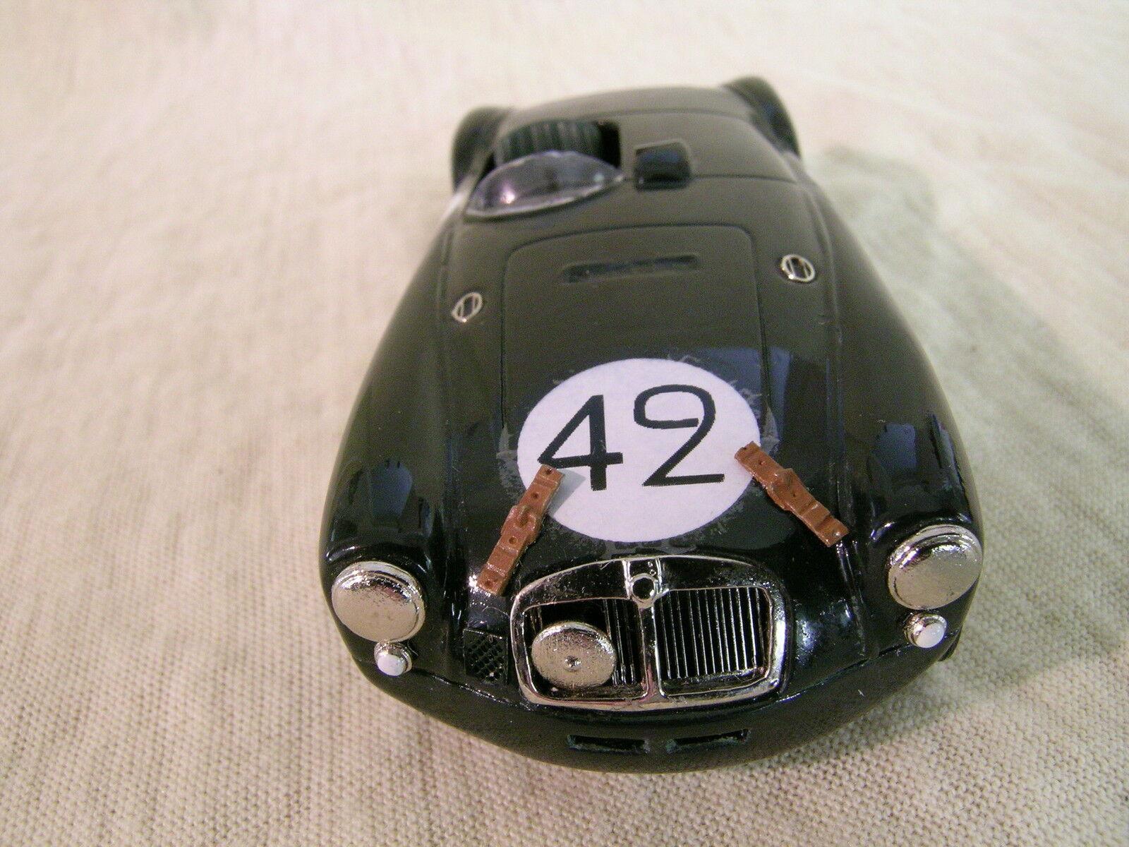 K&R UK MG A A A EX182 LE MANS1955 WORKSTEAM 42 BRG WHITEMETAL HANDBUILT + BOX 1 43 29351d
