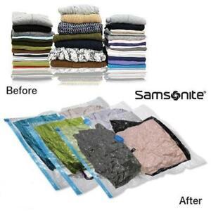 3-Piece-Set-Samsonite-Large-Vacuum-Clothing-Storage-Bags-Waterproof-amp-Reusable