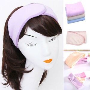 Spa Bath Shower Makeup Wash Face Cosmetic Headband Hair Band Accessories W