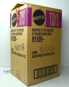 Motu, Lot de figurines pour homme avec valise de transport, Masters Of The Universe, 200x, Box