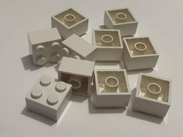Qty:25 Part 3003 Element 300326 New Lego Black Brick 2x2