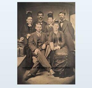 8x10-Doc-Holliday-Wyatt-Earp-Group-PHOTO-Big-Nose-Kate-Wild-West-Sheriff
