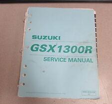 1999 Suzuki GSX1300R Service Repair ATV Motorcycle Manual 99500-39182-03E