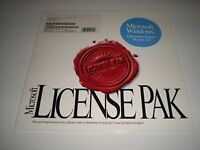 Microsoft Windows 3.11 License Pak Only. No Disks, Media Or Manuals. Genuine.