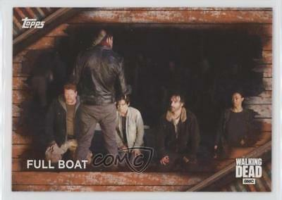 Trading Card Singles 2017 Topps The Walking Dead Season 6 Rust #99 Full Boat Non-sports Card R0m To Have A Unique National Style