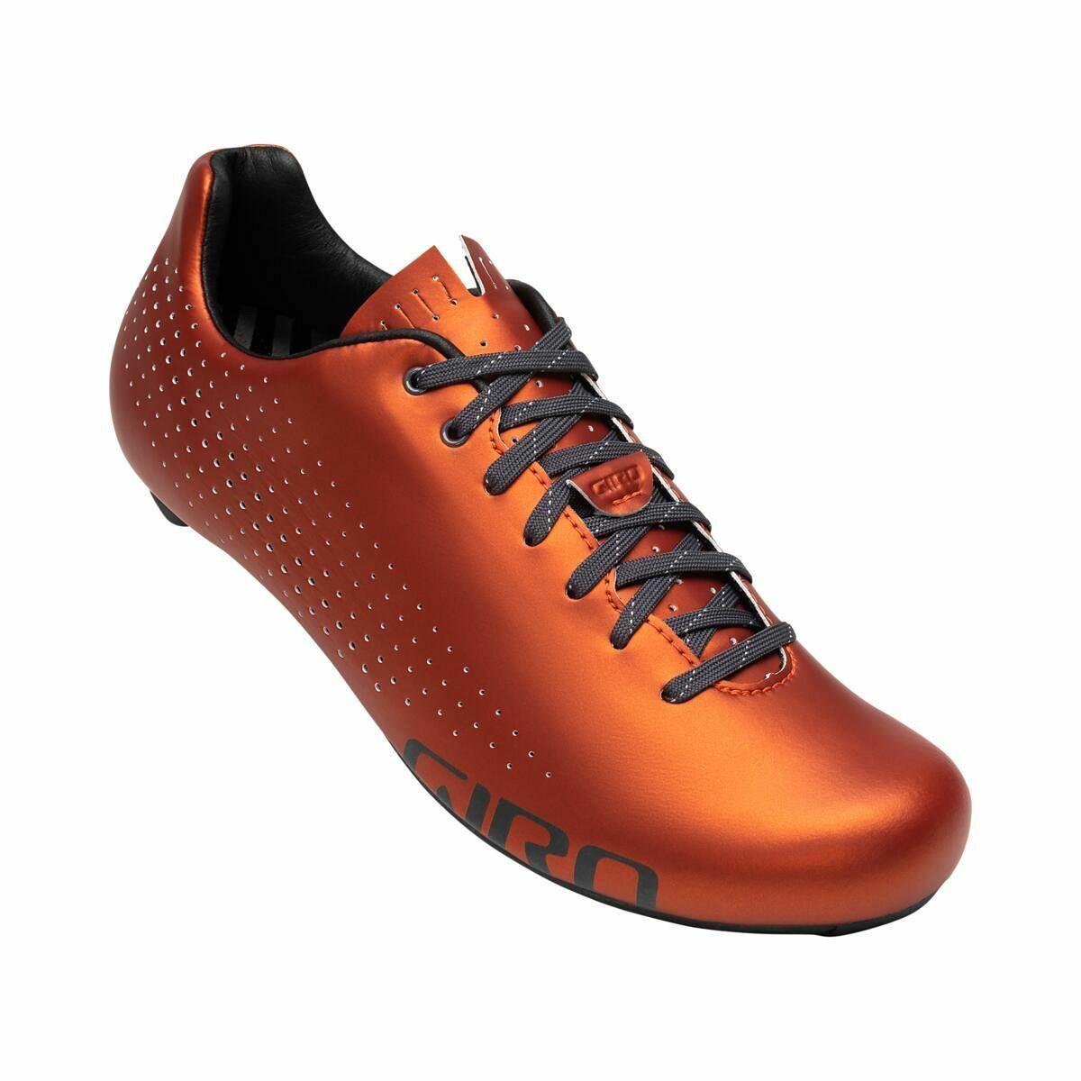 Giro Empire Rennrad Fahrrad Schuhe Orange 2020