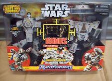 Transformers Star Wars Millennium Bonus Titanium Falcon Han Solo Chewbacca Set