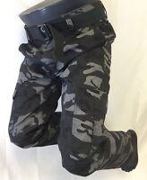 Mens True Rock Camo Cargo Pants Army Gray 32 34 36 38 40 42 Arnold 7702