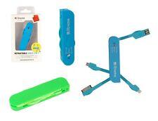 adattatore per alimentazione dati USB tipo A  dock 30 pin, lighting, micro USB
