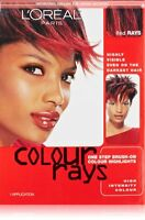 L'oreal Paris Colour Rays Hair Color, Red Rays (6 Pack)
