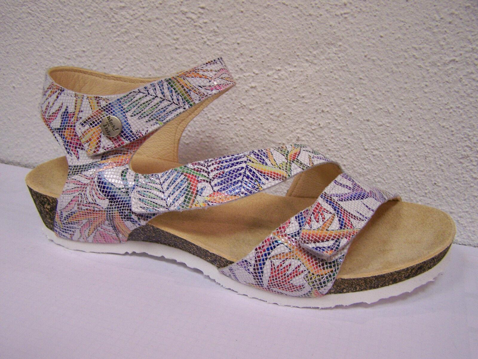 Think dumia blumenprint Zapatos dumia Think Blanco/efecto hippie, blumenprint 3475d6