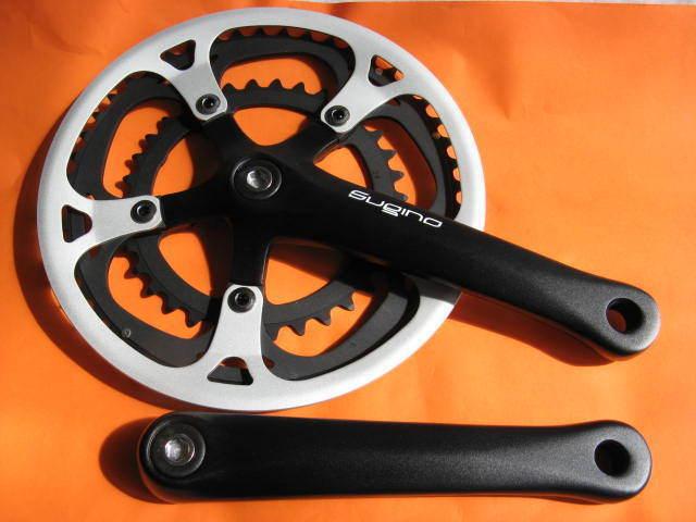 Manivelle Sugino Xd 500 D Crank Set 34 48Z, 170mm av. Hs Ensemble Pignon Neuf