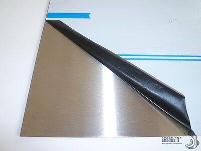 Edelstahl Blechstreifen Flachstahl Flacheisen Streifen V2A VA 1000 mm Blank