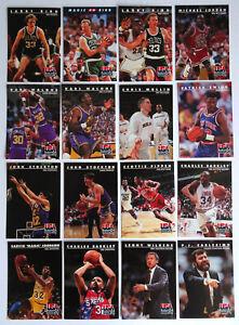 1992 Skybox Int'l Baseball Cards Lot of 16 Larry Bird Rookie, Michael Jordan