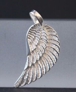 Fluegel-Anhaenger-Engelsfluegel-925-Sterling-Silber-Silberanhaenger-Engelsrufer
