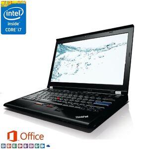 "Lenovo ThinkPad X220 12.5"" HD (Intel Core i7, 8GB RAM, 256GB SSD, Windows 10 Pro"