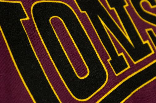 Lonsdale Premium CLASSIC Slim-Fit T-Shirt Flock Print Logo 100/% Cotton Hemd