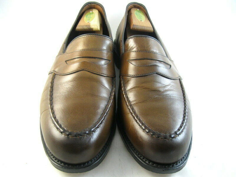 Allen Edmonds  RANDOLPH  Loafers 10 E Bourbon  (897)