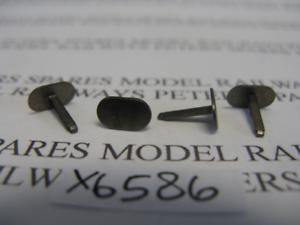 Pk4 Hornby X6586 2-BIL Metal Buffers Pack