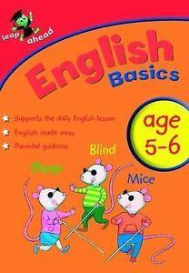 English-Basics-5-6-by-Bonnier-Books-Ltd-Paperback-2009-Education-Book-B093