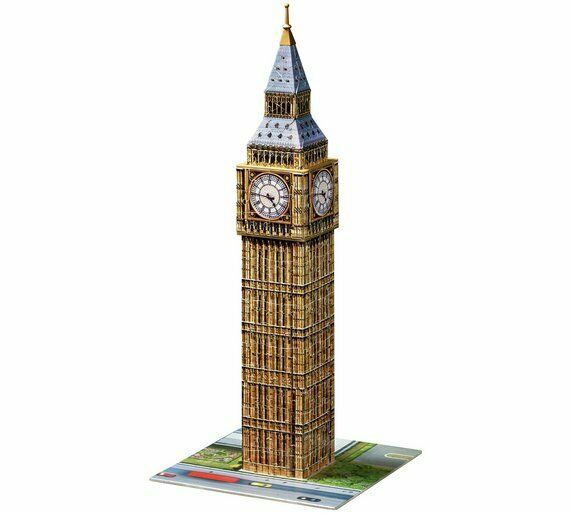 Ravensburger Big Ben 216 Piece 3D Jigsaw Puzzle Build A Sturdy And Strong NEW_UK