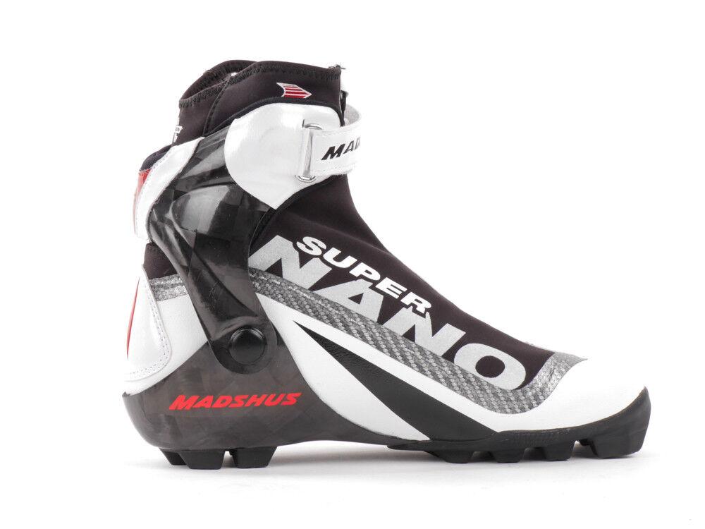 Madshus shoes Sci di Fondo Skiboot Bianco Super Nano Inseguimento Revowrap™