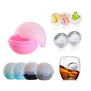 Whisky Silicone Glaçon Machine à Fabriquer des Boules Moule Sphère Brique Fête