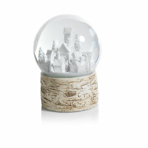 The Holiday Aisle Snow Globe on Birch Christmas Village Set of 2