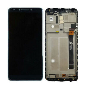 Details about New LCD Touch Screen Digitizer + Frame for Alcatel 7 6062W  metroPCS Revvl 2 Plus