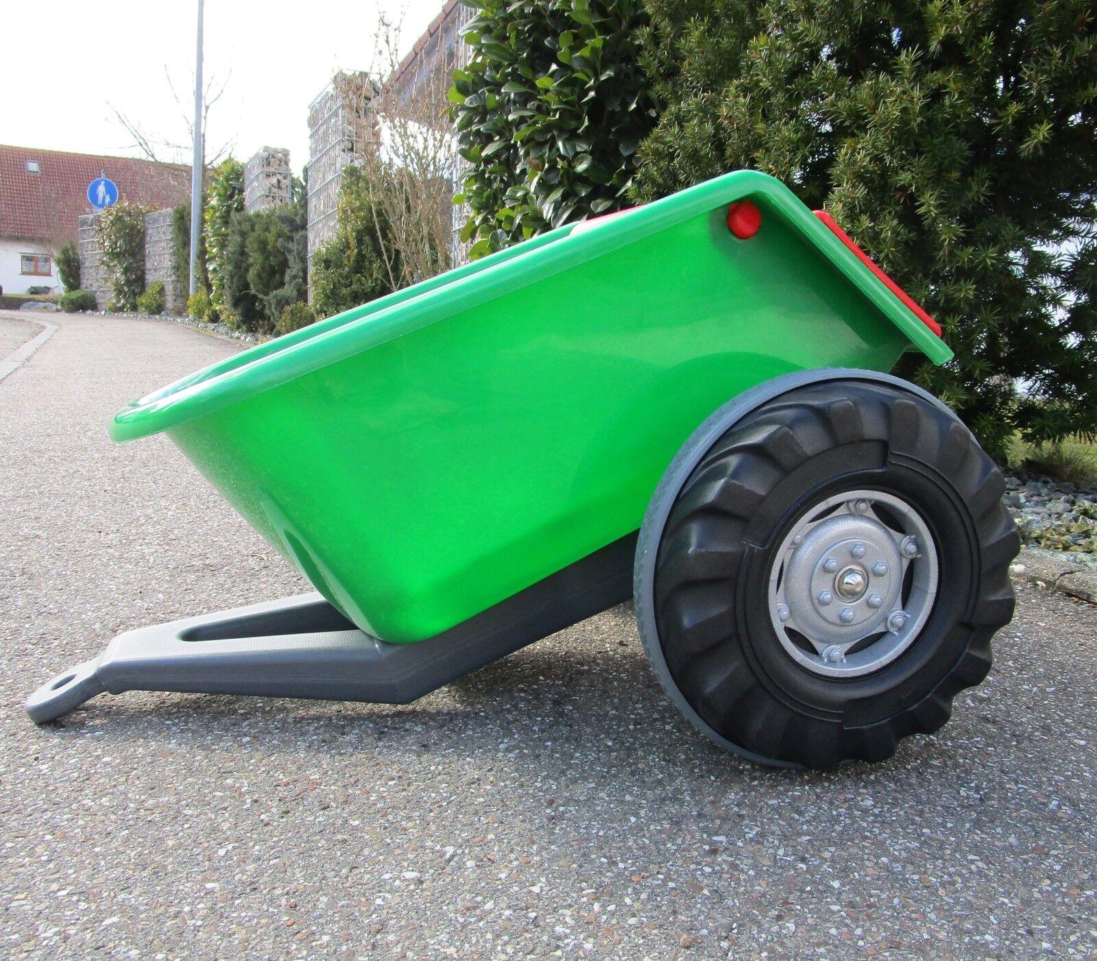 Anhänge für  Traktor mit 2 Motoren je 12V Traktor Hänger °07295