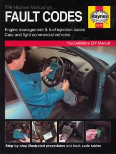 Haynes Manual Fault Codes Engine Management ECU DIY EOBD Test Procedures