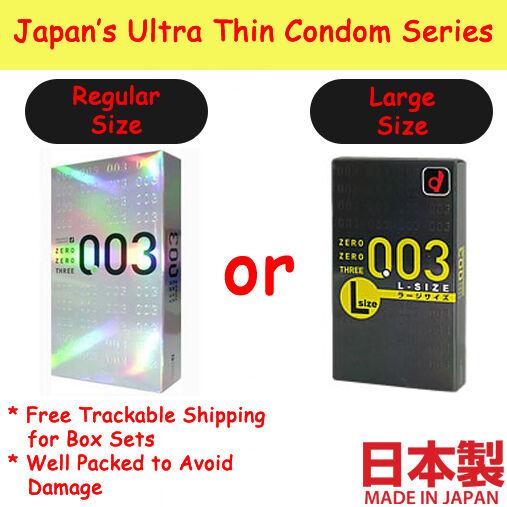 Okamoto Condom 0.03 mm Zero Zero Three 12 pieces From