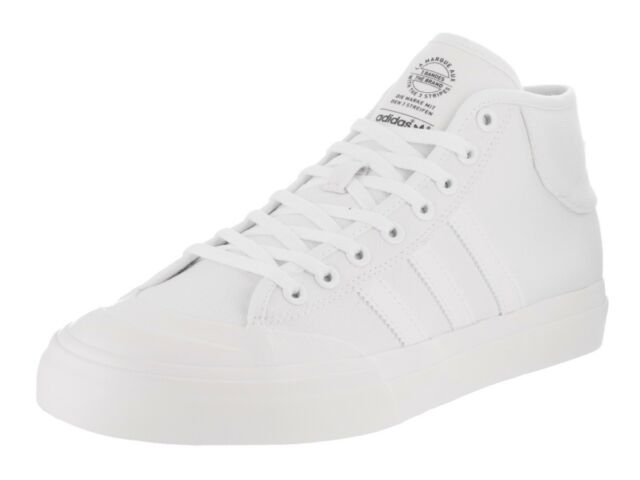Adidas MATCHCOURT MID White Casual Skate Sneaker F37702 (387) Men's Shoes