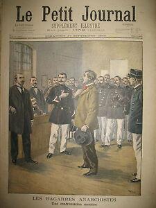 BAGARRES-ANARCHISTES-CONFRONTATION-NAUFRAGE-NORVEGE-RADEAU-LE-PETIT-JOURNAL-1899