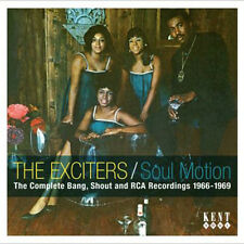 """THE EXCITERS  """"SOUL MOTION, THE COMPLETE BANG, SHOUT & RCA RECORDINGS 1966-1969"""""""