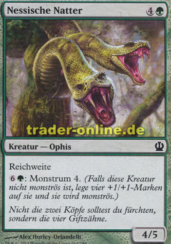 4x Nessische Natter Theros Magic Nessian Asp