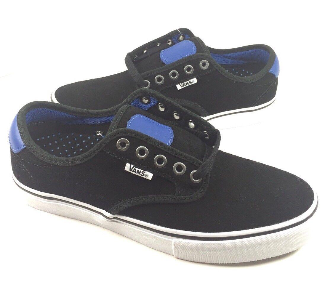 NEW Vans hommes Ch-ima Ferguson Pro Real Skateboards noir bleu Chaussures Sneakers Sz 7