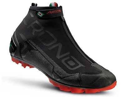 SCARPE CRONO ARTICA BLACK CARBON REINFORCED NEW