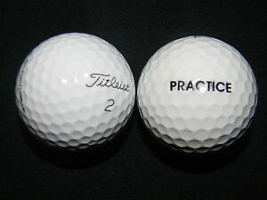 20-TITLEIST-034-PRO-V1-034-034-PRACTICE-034-ON-BALL-Golf-Balls-034-PEARL-A-034-Grades