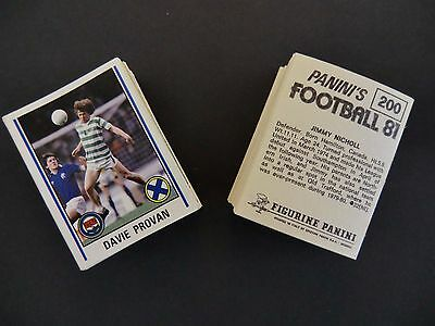 Panini Football 81 Stickers Complete Your Collection 1-300