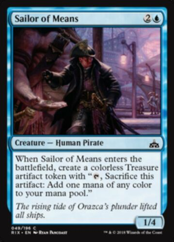 4 x Sailor of Means MtG PLAYSET Common Rivals of Ixalan