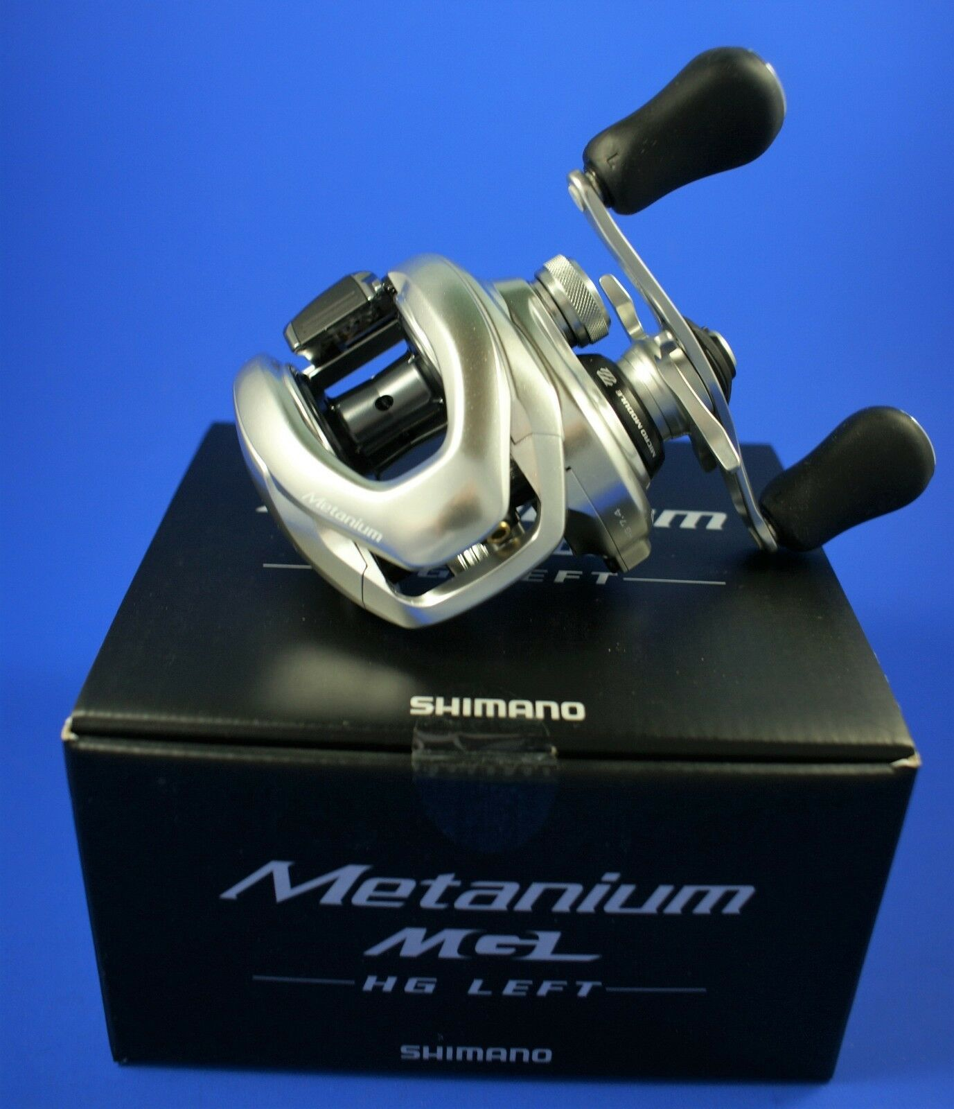 Shimano metanium MGL 151 Hg    metmgl 151 Hg    Baitcasting Reel (MANO IZQUIERDA)
