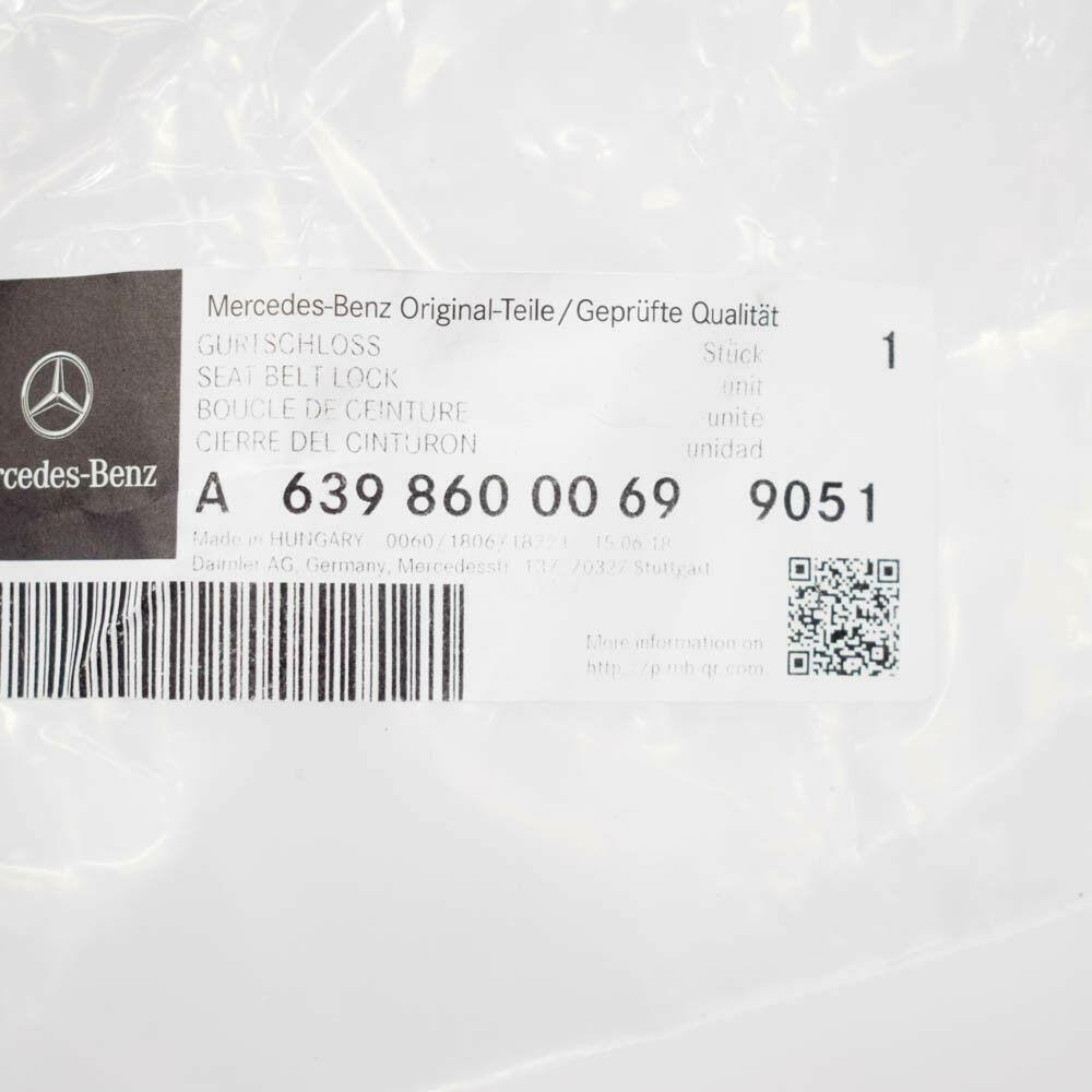 Original Mercedes-Benz Boucle Obturateur Lks et Ré Vito Viano 639