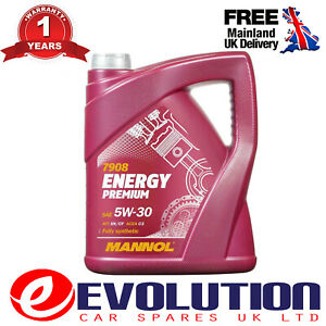 1-X-5L-MANNOL-PREMIUM-5W30-FULLY-SYNTHETIC-LONG-LIFE-ENGINE-OIL