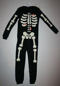 1d6e31686458 NEW Gymboree Skeleton 1 Pc Halloween Gymmies PJs Size 18-24M 2T 3T ...