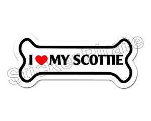 I-Love-My-Scottie-Dog-Bone-Bumper-Sticker-Decal-DB-271