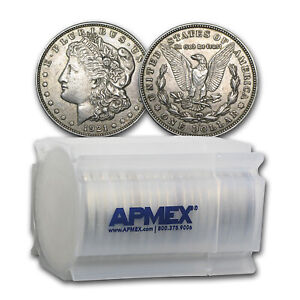 SPECIAL-PRICE-1921-P-D-or-S-Mint-Morgan-Silver-Dollars-VG-XF-Lot-of-20